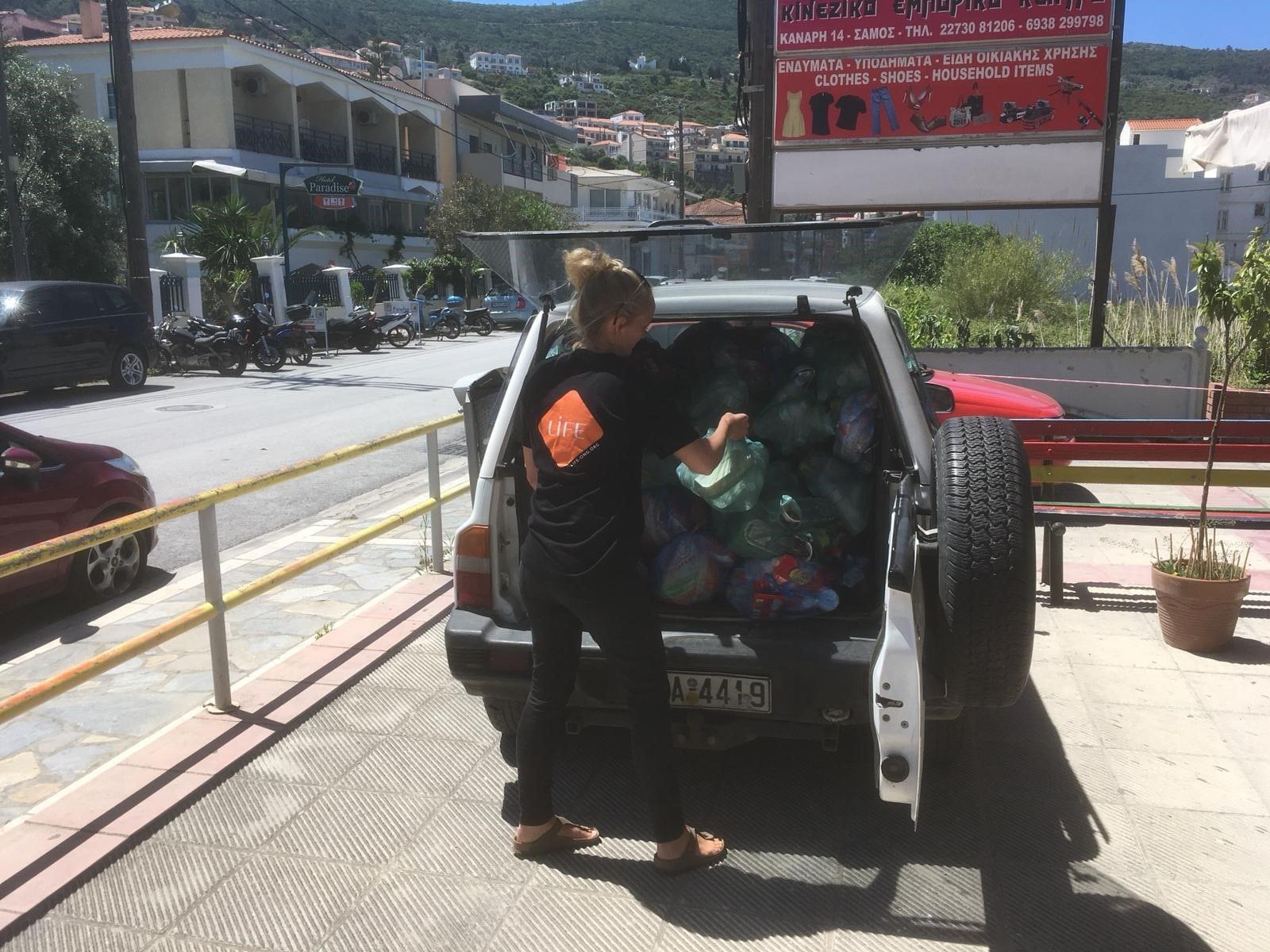 LIFE finance un aide alimentaire d'urgence en Grèce.
