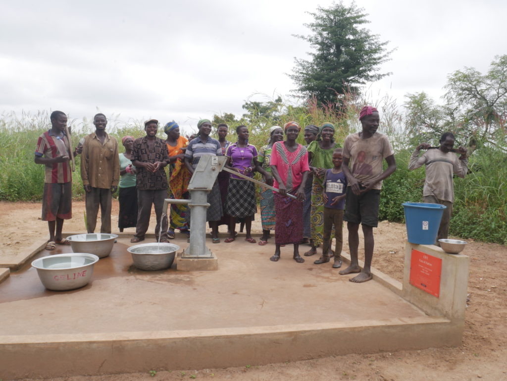 Un village au Togo a bénéficié d'eau potable - association life ong