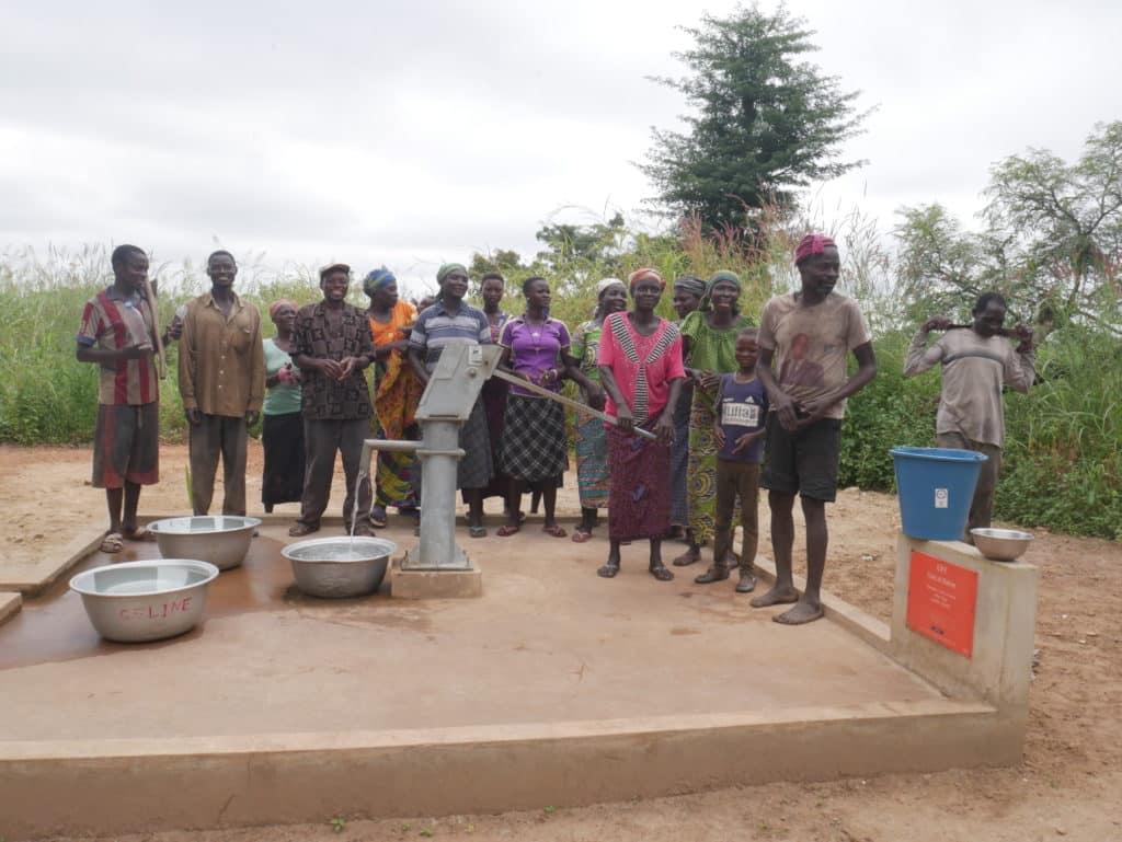 Un village au Togo a bénéficié d'eau potable - association life ong