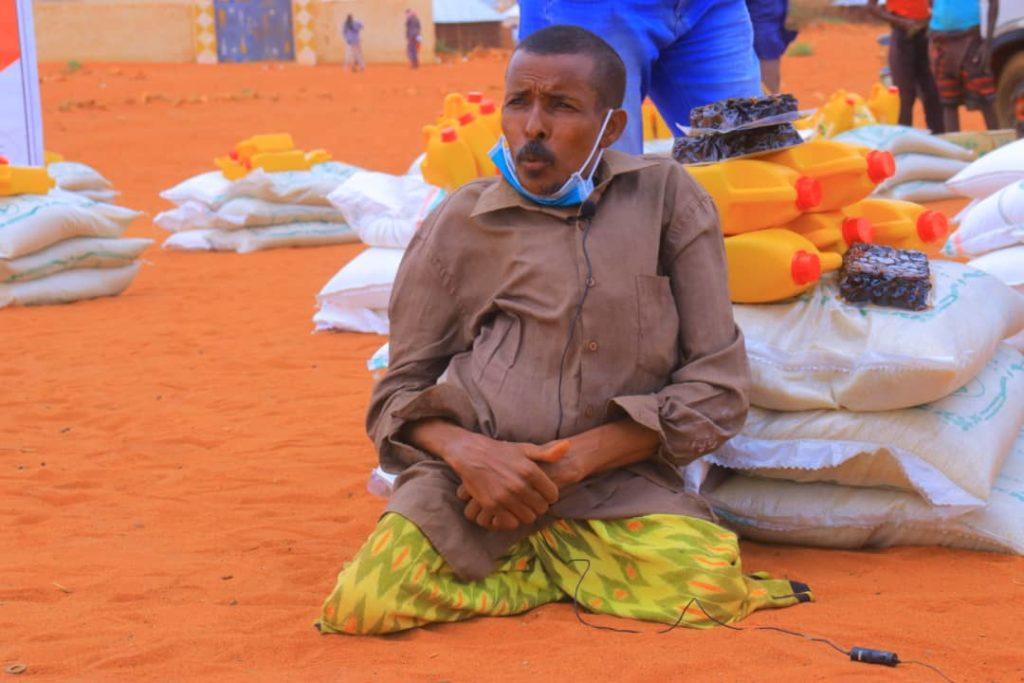 Distribution dans les camps de réfugiés en Ethiopie
